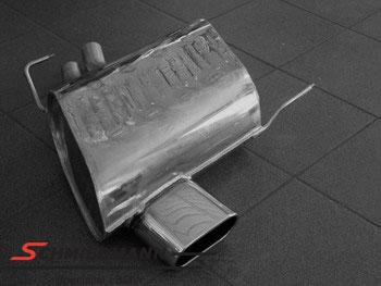 Eisenmann sportsbagpotte flad/oval rørhale 160X80MM