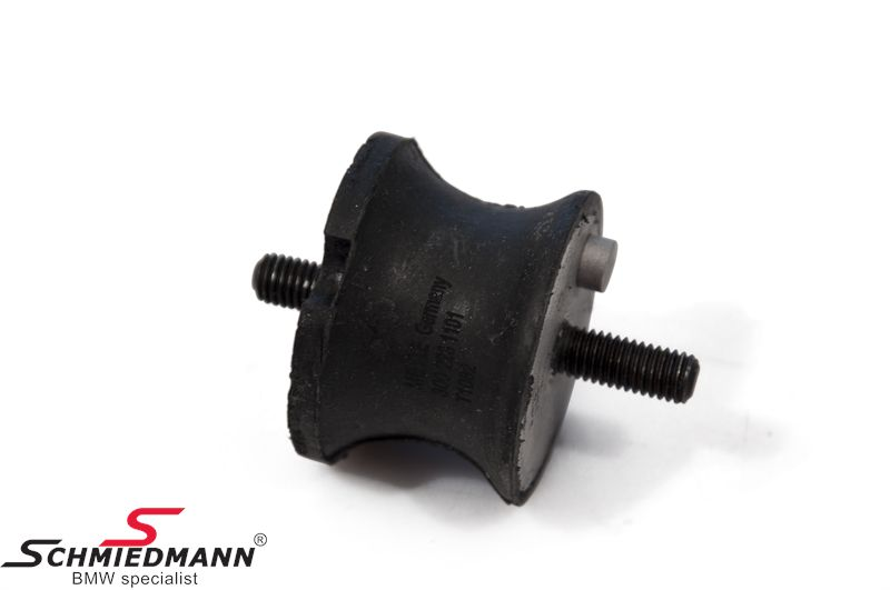 Gearbox rubber mounting for models with manual transmission
