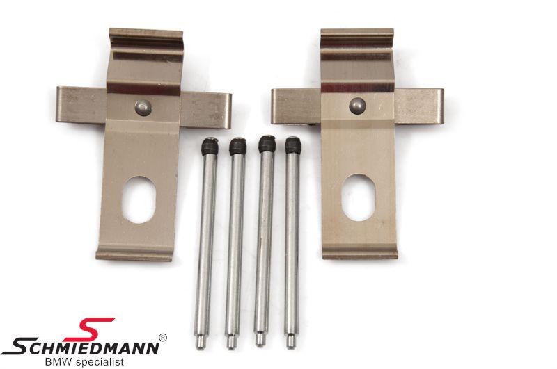 Monterings-sett (2 stk./1 aksel) til bremse-kalippre foran