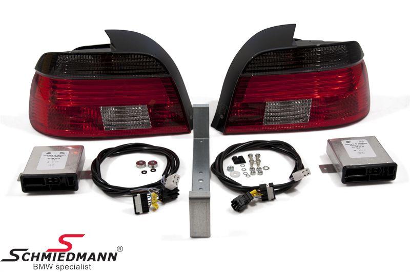 Rückleuchten facelift 2000 rot/schwarz Hella