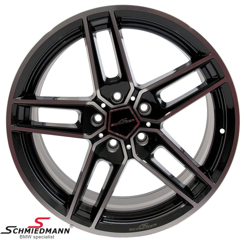 "19"" original -AC Schnitzer type VIII BiColor - rim - 9,5X19 ET33 (fits only rear)"