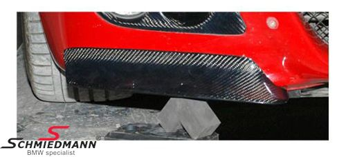 Frontspoiler Lippen Satz echt Carbon für BMW M3 Frontspoiler