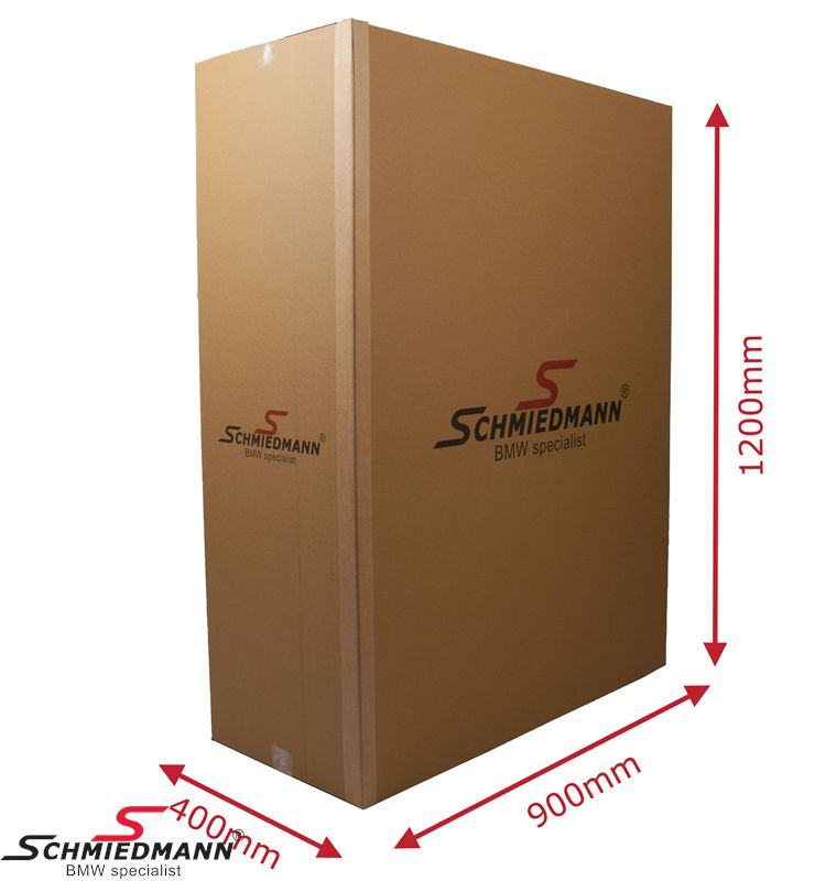Schmiedmann carboard box with logo 1200X900X400MM