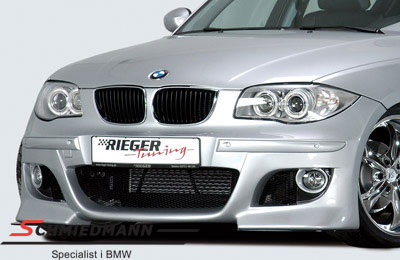 Rieger frontspoiler i E60 M5 look