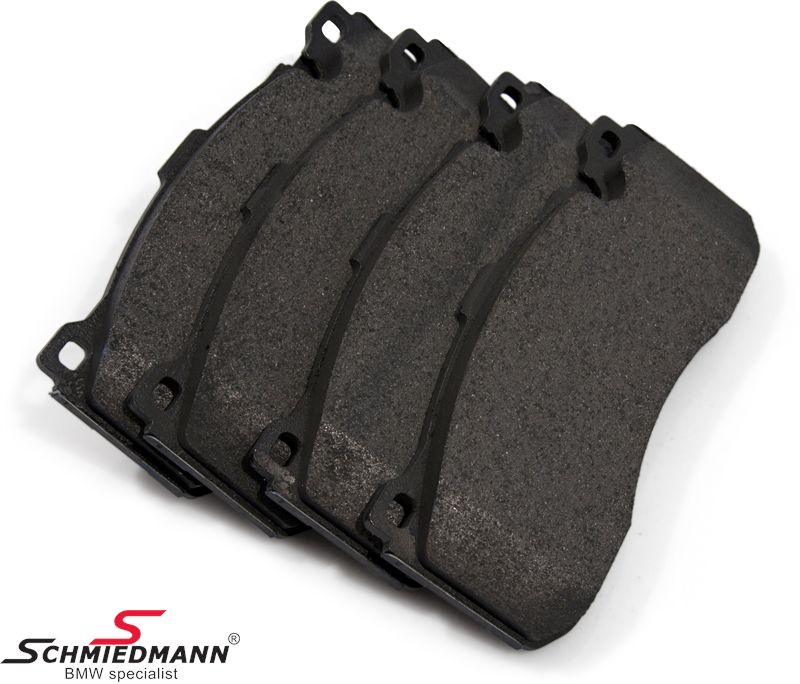 Brakepads front for BMW Performance systems