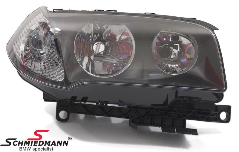 Headlight with white indicator R.-side