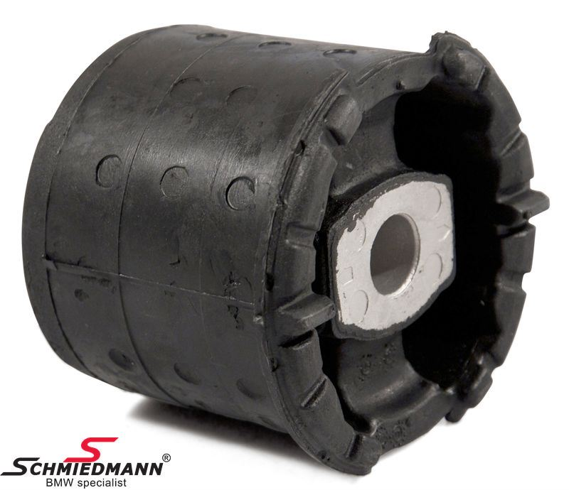 Rubber mountings -Meyle HD Heavy Duty- rear axle outer vertical in the sides of the rear axle carrier
