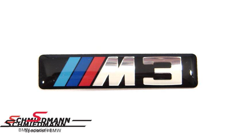 Emblem M3 self adhesive