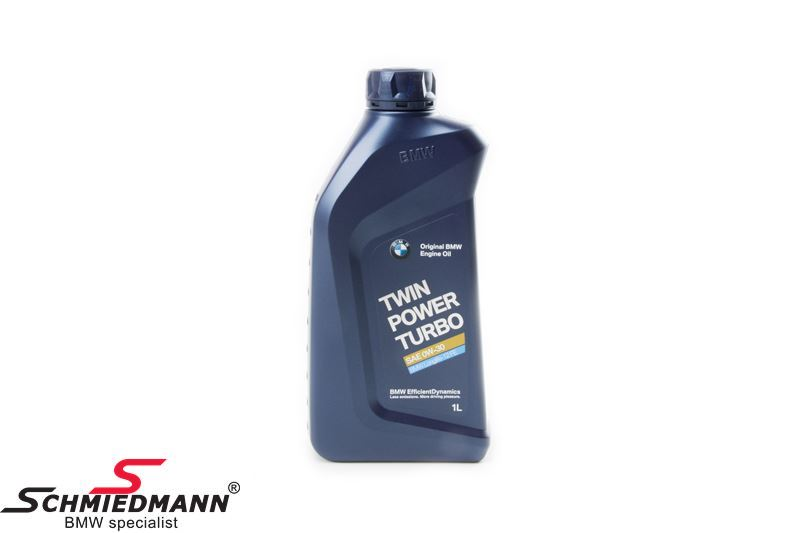Engine oil 1L can original TwinPower Turbo engine oil LL-12 FE SAE 0W-30