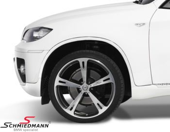 "22"" original AC Schnitzer Type V forged wheels wheels in combination 10+11,5X22 with 295/30+335/25-22"