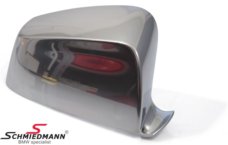 Chrom sidemirror cover set R.-side original BMW