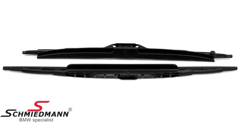 Viskerblade sæt original BMW m. spoiler