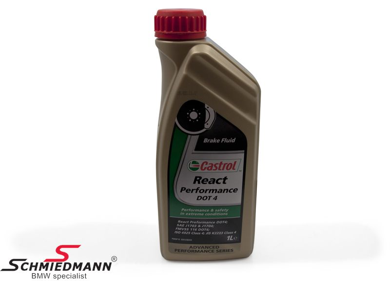 Race rem olie Castrol React Performance DOT 4.0, 1 litre
