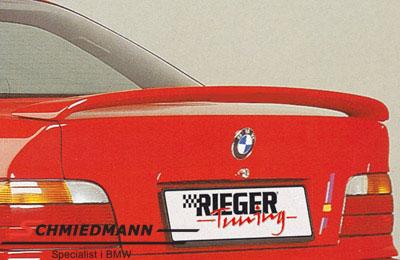 Hækvinge Rieger u. bremselys lav model