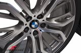 "36112166624K 36112166624 36 11 2 166 624  21"" 10+11,5x21 Performance Y-Speiche 375 alufælge m.285/35+325/30/21 (original BMW)"