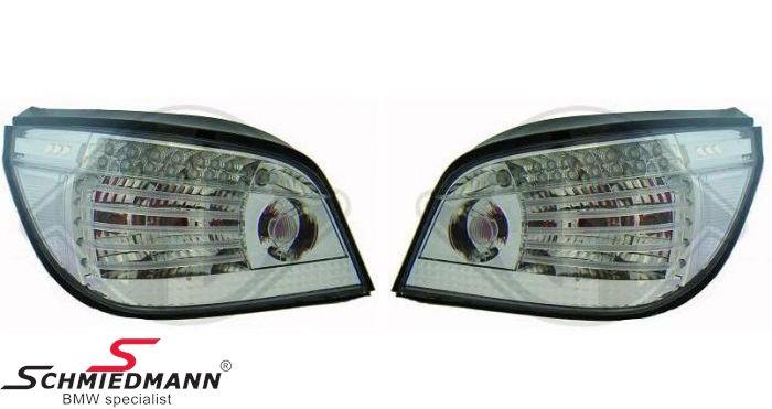 Baglygter facelift hvide -White Edition- LED-teknik også i blinket