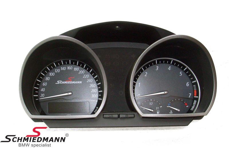 Schmiedmann instrument-kombi 300km/t. ombygning inkl. Schmiedmann logo