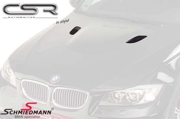 Gitter-sæt til motorhjelm -Edition- med luftindtag varenummer CSRMOT024