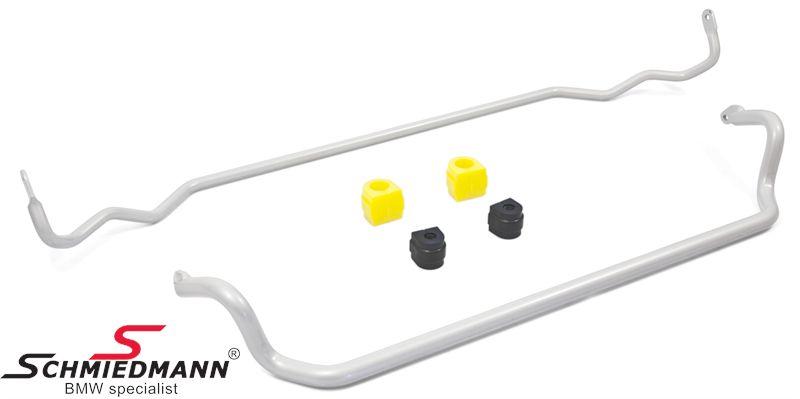 UUC Motorwerks vahvistettu ja säädettävä kallistuksenvakaaja sarja