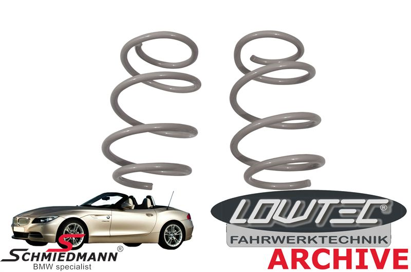 Lowering-set Lowtec front 25MM (only front)