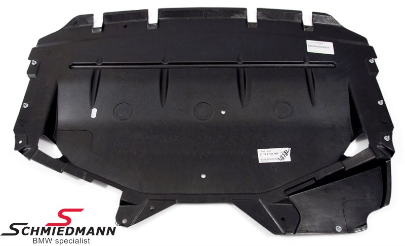 BMW E39 - Engine and undercarriage covers - Schmiedmann