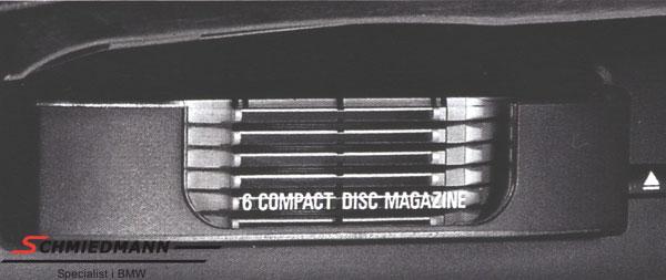 CD boks (6stk.) eftermonterings-sæt over handskerummet