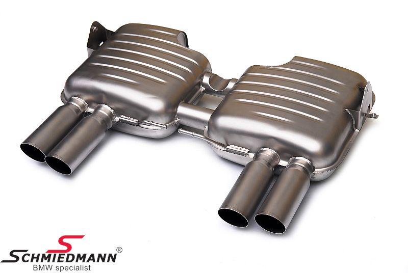 Eisenmann sportsbagpotte INCONEL special lightweight edition 4XØ76MM RS -Race Sound- uden Tüv
