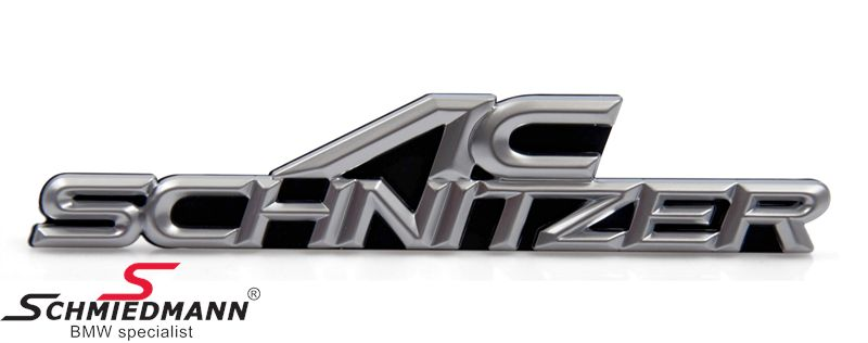 AC Schnitzer emblem for front grille 160x32MM