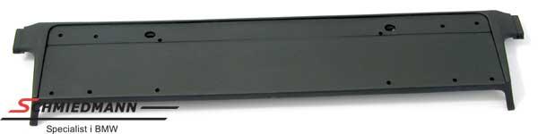 Stossleiste Mitte/Kennzeichenhalter Stosstange vorne Chrom-line