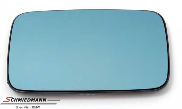 Side-view mirror glass heated/tinted R.-side