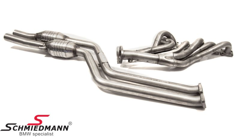 Bmw Z4 E85 Metal Catalysts High Flow Schmiedmann