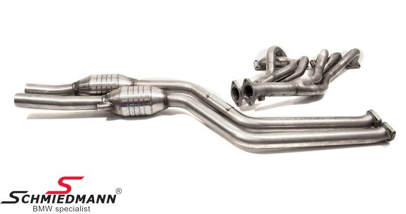 Schmiedmann sport exhaust manifold inclusive 250cell high ...