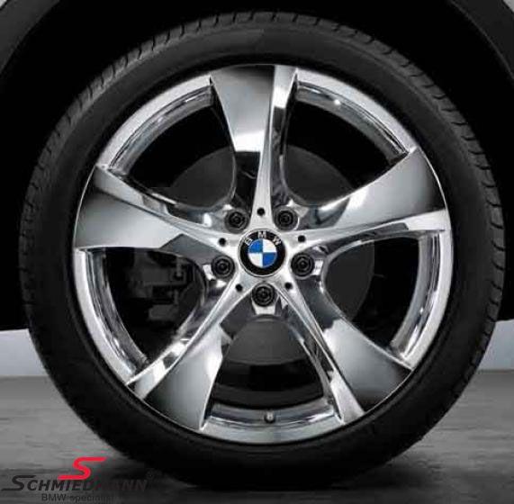 """19"""" Sternspeiche 311 krom fælge 9X19 (original BMW) (passer kun bag)"""