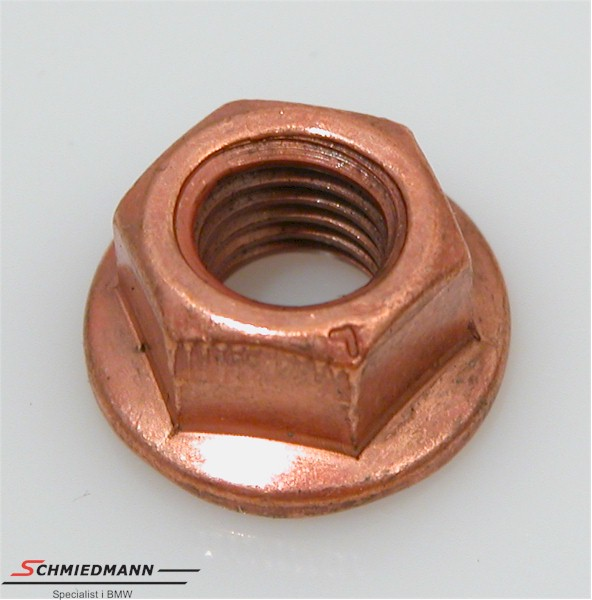Nut copper M8 x 1,25
