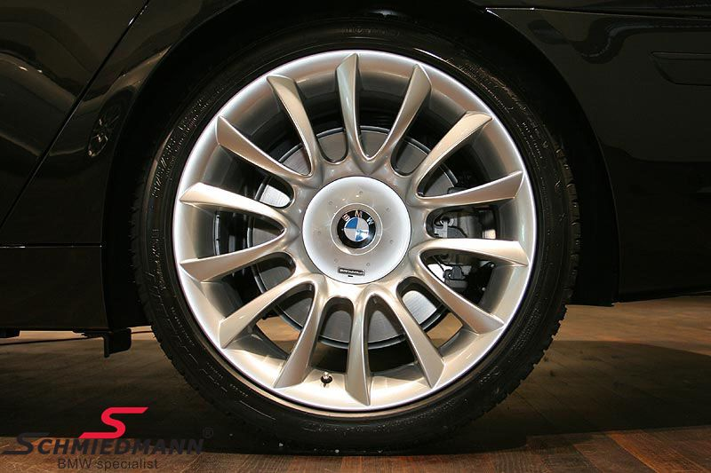 "18"" Individual V-Speiche 152 original BMW rims with 225/40/18 Nankang Snow SV2 winter tyres"
