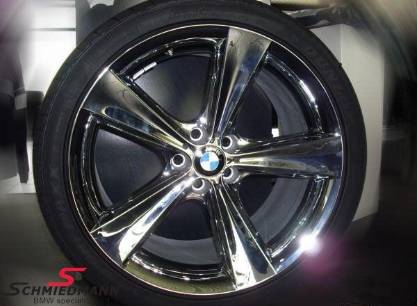 """21"""" Krom Sternspeiche 128 fælge 9X21 (original BMW)"""