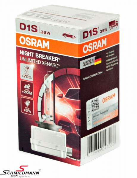Xenon izzó - D1S Osram Night Breaker - 66140XNB