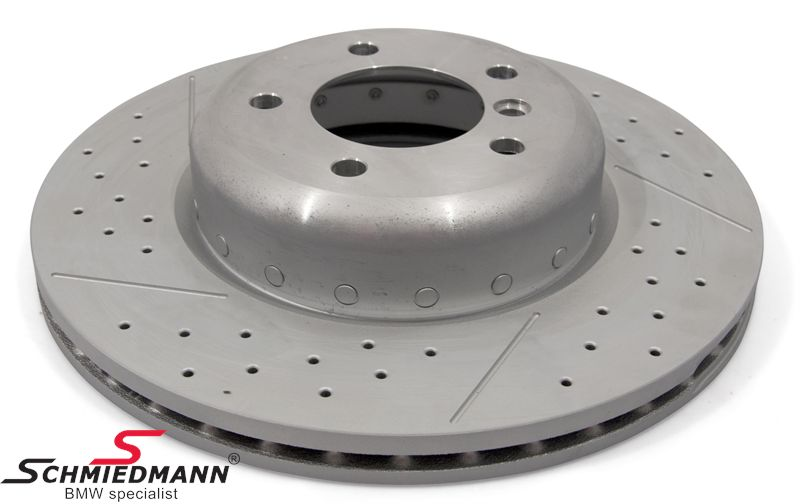 Brake disk 338x26MM -BMW Performance- ventilated