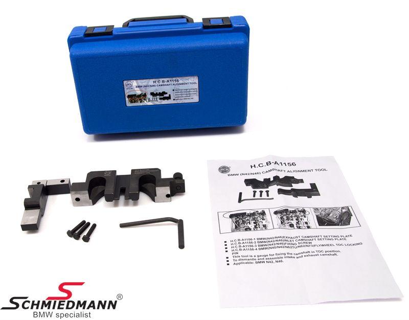 Knast-låse/justeringsværktøjs-sæt N42/N46 motorer
