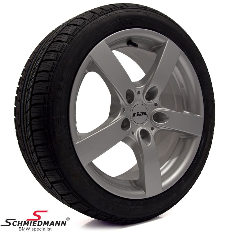 "18"" Rial RS -Salerno- wheels with 235/40/18 winther tyres"
