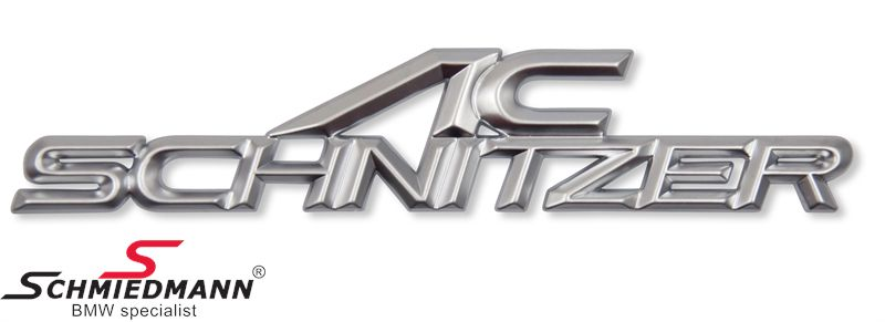 AC Schnitzer emblem for the trunk lid 160X32MM