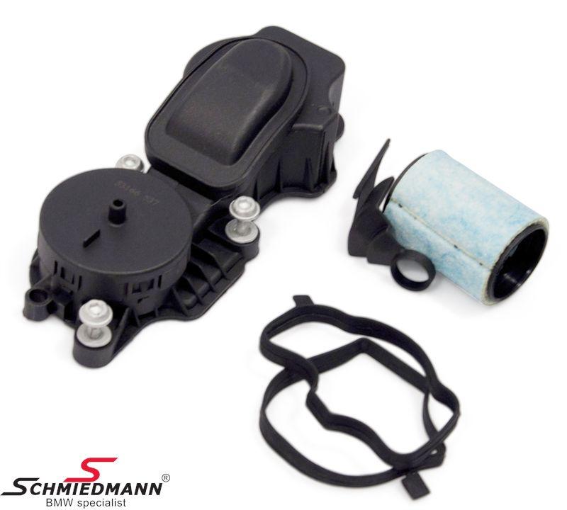Krumtap-udluftnings-ventil
