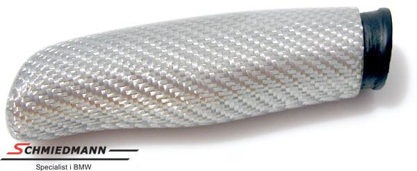 Schmiedmann håndbremsegreb ægte sølv carbon