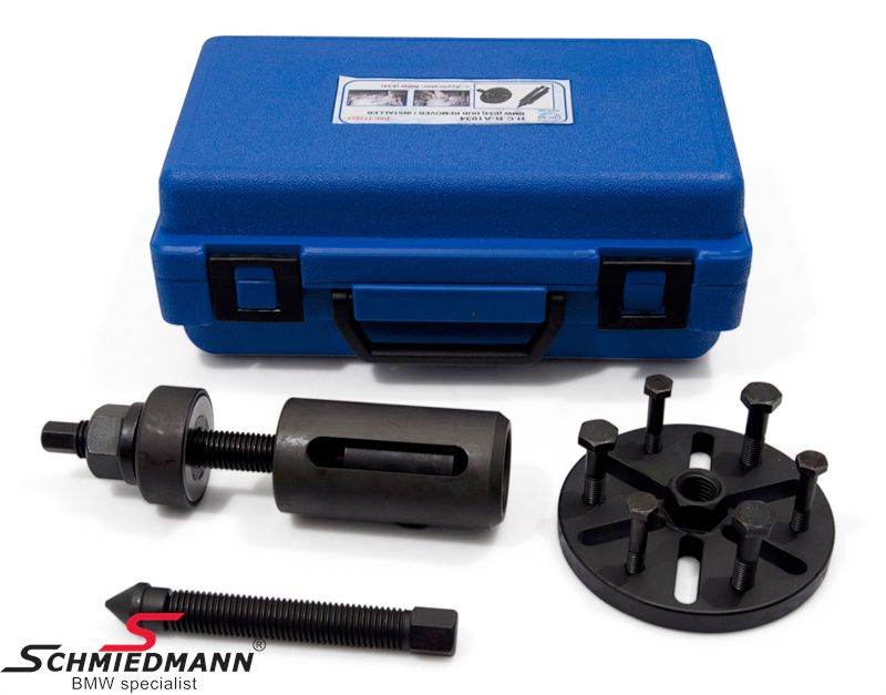 Wheel hub extractor/installer special tool (The work can be done directly on the car)