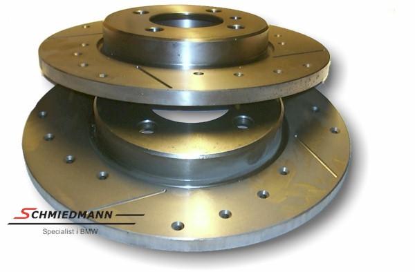 Racing brake discs rear solid 272X10MM set