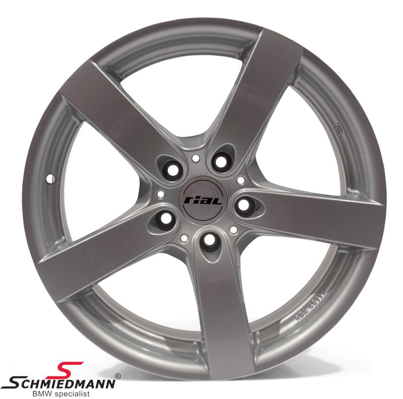 "18"" RS -Rial Salerno- hyper silver Felge 8X18"
