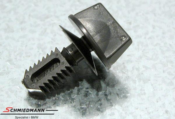 Klammer für Abdeckung hinter die Scheinwerfer und/oder Instrumentafel