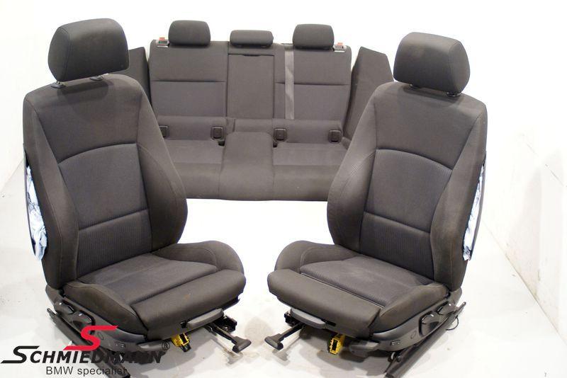 bmw e90 seats headrests schmiedmann used parts. Black Bedroom Furniture Sets. Home Design Ideas