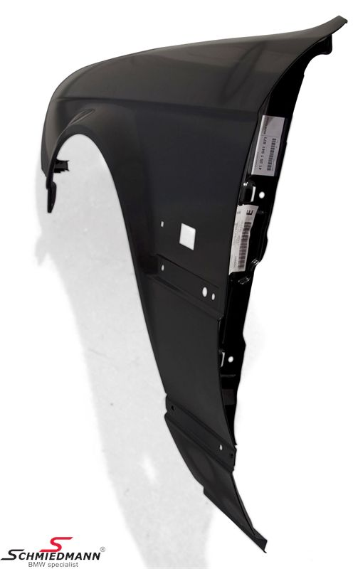 Sidefender with hole for side indicator L.-side