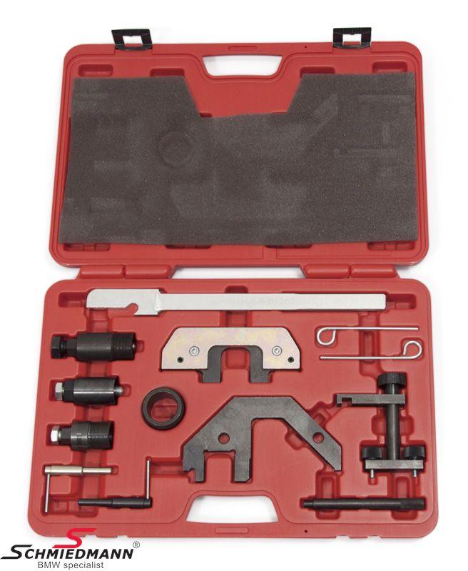 Knast-låse/justeringsværktøjs-sæt Diesel motorer, (stort sæt)